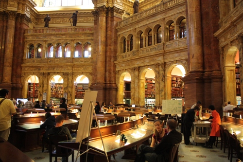 Library of Congress Reading Room I