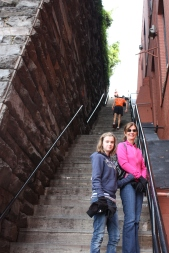 Georgetown steps ~ filmed in the Exorcist movie