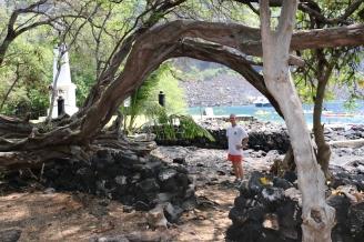 Kealakekua Bay Captain Cook memorial John II