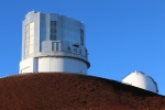 Mauna kea large telescope at the summit