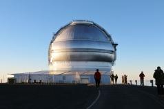 Mauna Kea Summit round telescope