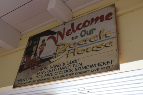Puako Rental House welcome sign
