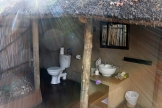 Umlani outdoor sink and toilet