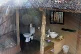 Umlani outdoor sink and toilet